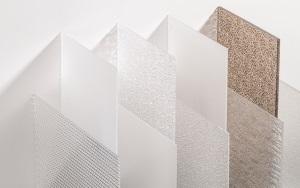 PLEXIGLAS® Textures Strukturierte Platten