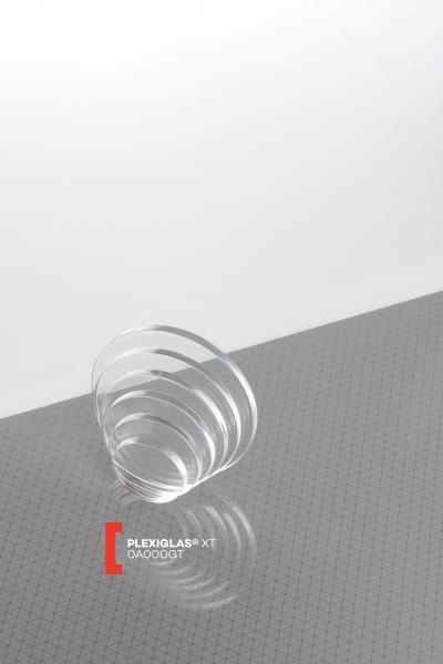Bodenscheibe PLEXIGLAS® XT Farblos 0A000 GT Blickdurchlässig transparent hochglänzend UV absorbierend