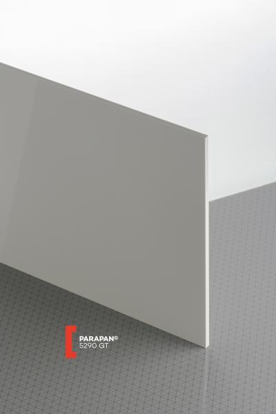 PARAPAN® Light Grey 5290 GT Sheet opaque highgloss