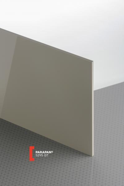 PARAPAN® Stone Grey 5295 GT Sheet opaque highgloss