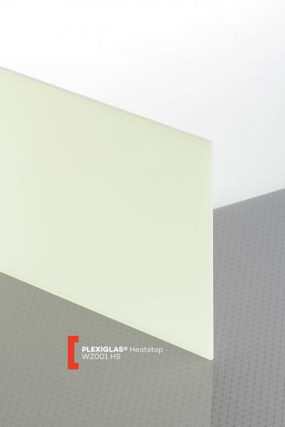 PLEXIGLAS® Heatstop Opal WZ001 HS Sheet translucent heat reflecting UV absorbent