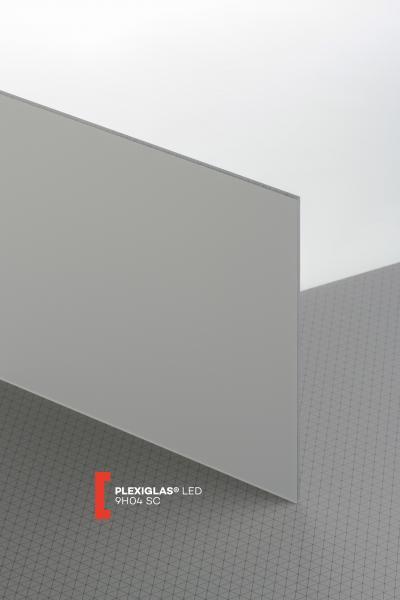 PL9H04 SC  3,00   3050X2030 -  B -  01-S  Black & White 3 mm | cut to size