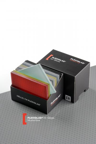 Sample box PLEXIGLAS® HiGloss unknown