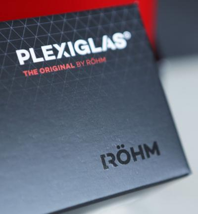 Boîte échantillons PLEXIGLAS® plaques à profil sinusoïdal unbekannt