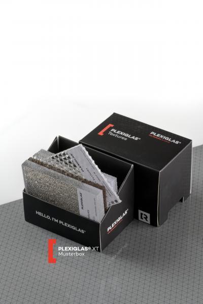 Sample box PLEXIGLAS® Textures