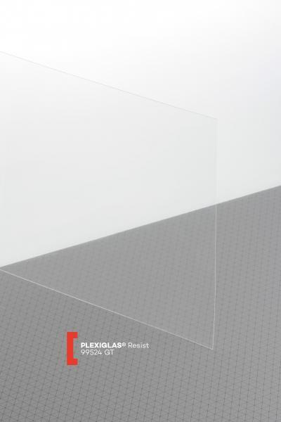 PLEXIGLAS® Resist Clear 99524 GT Film transparent highgloss high impact resistance