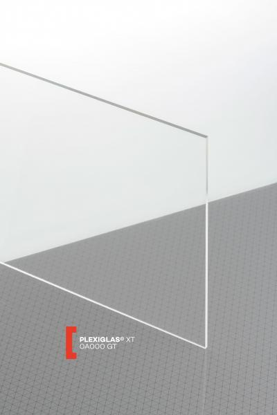 PLEXIGLAS® XT Clear 0A000 GT Sheet transparent highgloss UV absorbent
