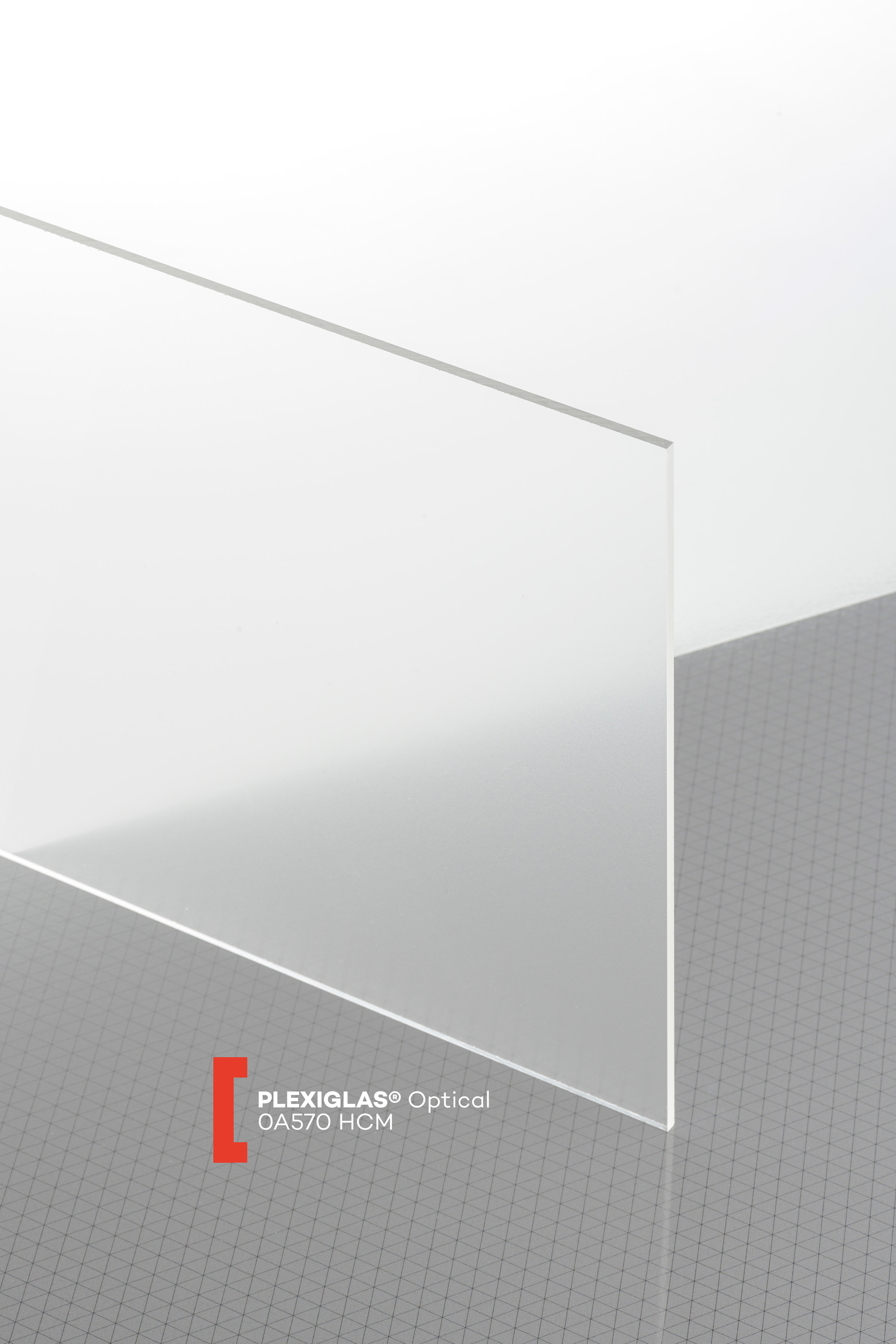 Acryl-Zuschnitt//Plexiglas-Platte transparent 4mm XT 80 x 30 cm