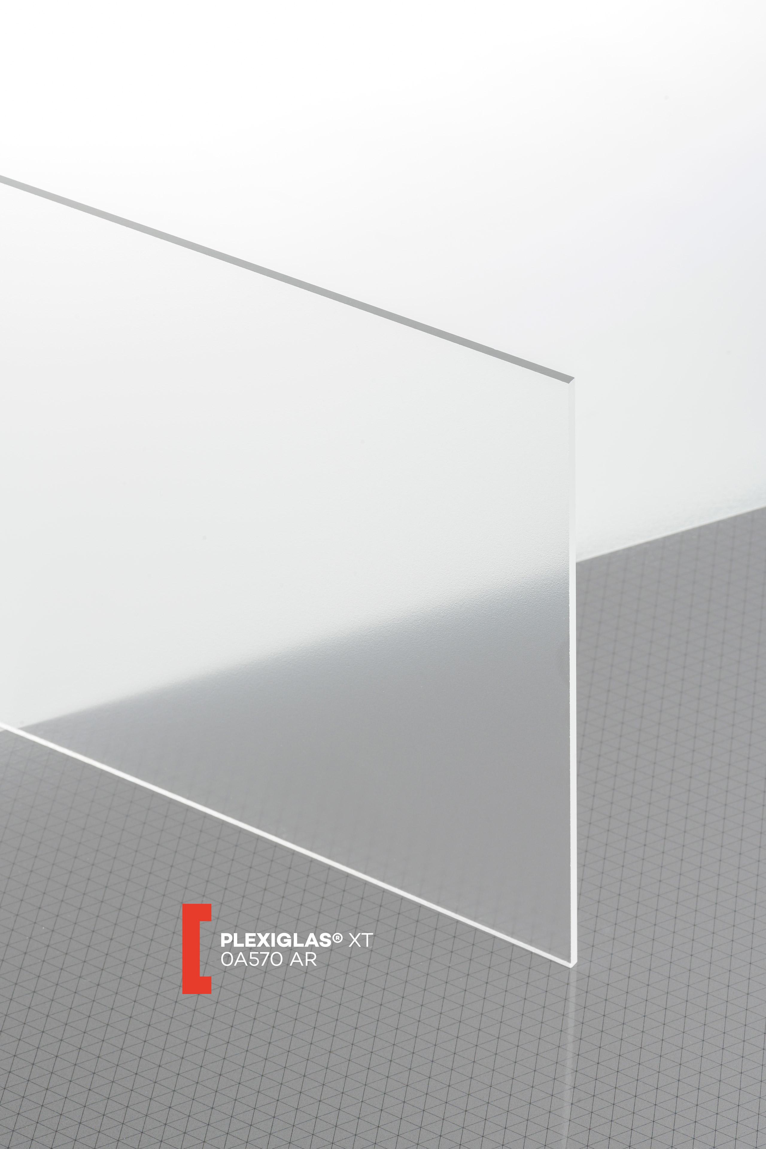 Plaques de verre acrylique XT transparent Transparent 4 mm