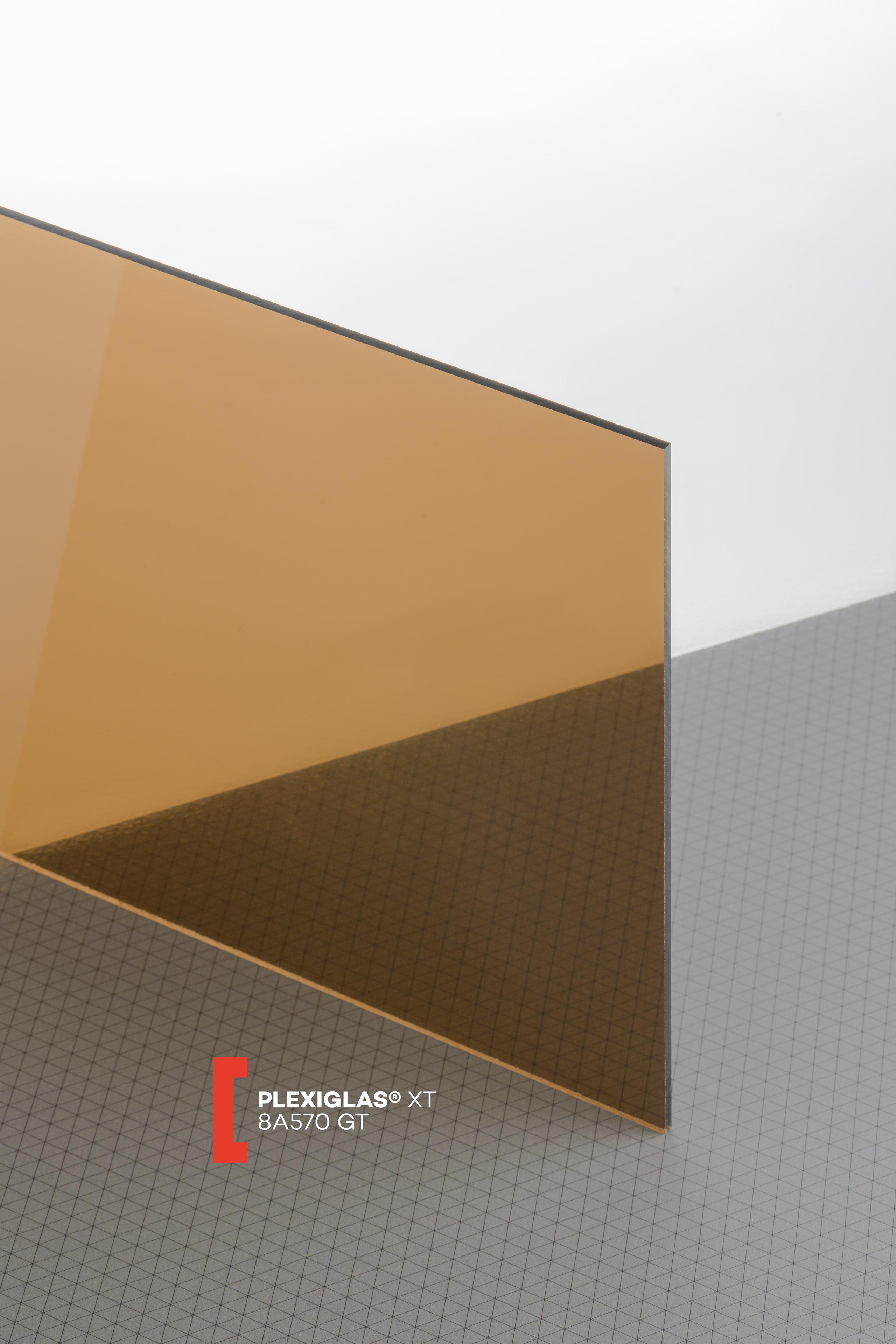 B/&T Metall Verre acrylique en PMMA XT Transparent /À la coupe Plexiglas/® de 4/mm d/épaisseur Rev/êtement r/ésistant aux UV des 2/c/ôt/és