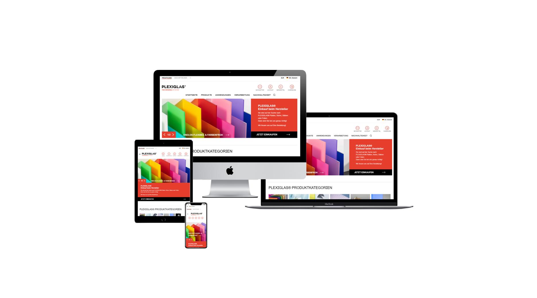 Bienvenido a la nueva tienda online de PLEXIGLAS®